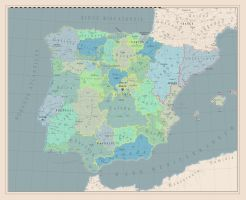 Monarchic Iberian Peninsulae by Gregxter