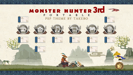 MonsterHunter Portable 3 Theme by takebo