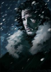 Game of Thrones -  Jon Snow by ChristianNauck