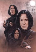 Severus Snape by goldenrod1034