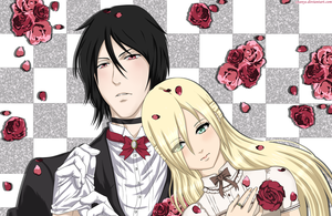 Black Butler - Michael Adams x Nina Parker by xNanys