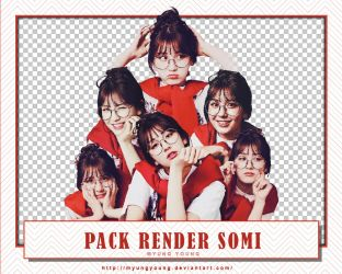 [170504] PACK RENDER #1 - JEON SOMI by MyungYoung