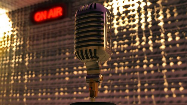 Old Microphone by lucasa7x