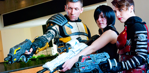 Mass Effect N7 Cosplay Photoshoot - DragonCon by Swoz