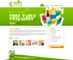 Food Store Solution Green by MufeedAhmad