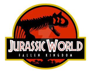 Logo Jurassic World Fallen Kingdom Carno Red  by OniPunisher