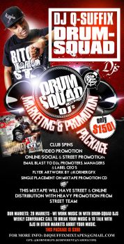 Drum Squad Promotion Package Flyer by Numbaz