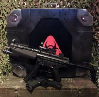 Resident Evil: Operation Raccoon City G-Virus Case by Leadmill