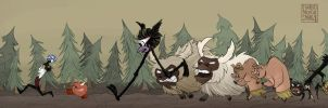 Dont Starve and Don't Die by lissa-quon