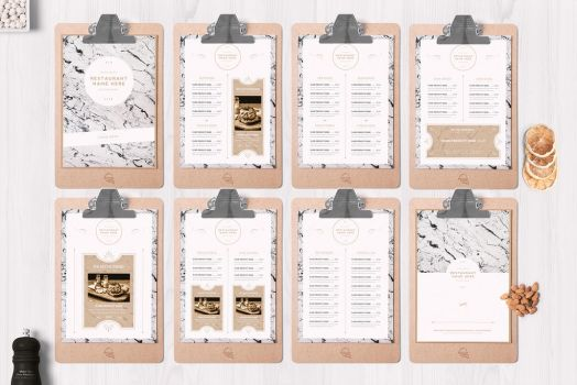 Classy Food Menu 7 Template by luuqas