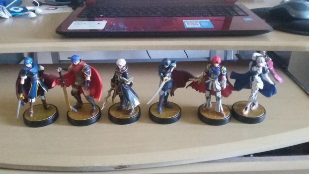 Fire Emblem Amiibos (Complete) by StarWarriorRobby