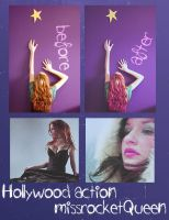 Hollywood PS action by missrocketqueen