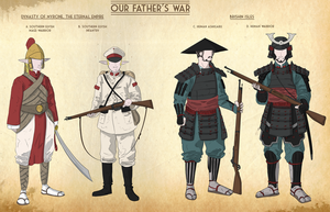 Our Fathers War Faction sheet 4 by goeliath