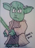 Yoda 2 by GreenUnicornArt