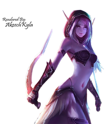 [6] World of Warcraft Anime Girl Render by AigooEXOjagiya