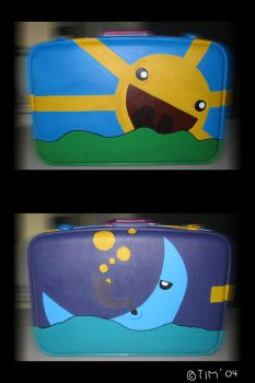 the happiest suitcase... by piratejack