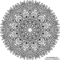 Krita Mandala 58 by WelshPixie