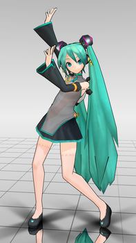PD Miku China WIP by ssugar4