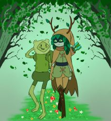 Fern X Huntress Wizard by GrimmSkitz