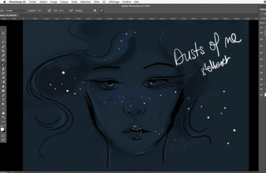 WIP Dust of me by stellartcorsica