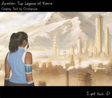 Korra 'cosplay' by Cristophine