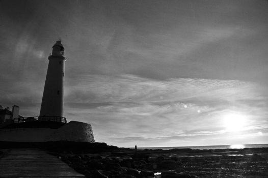 Lighthouse by a-James
