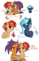 NG: Ember, Misty, and Jasper by Lopoddity