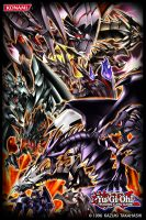 the red-eyes Dragons [ Card sleeve ] by AlanMac95