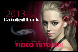 NEW Painted Look Video Tutorial by shiny-shadows-Art