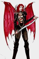 Red Dragon Disciple by MiliaYana