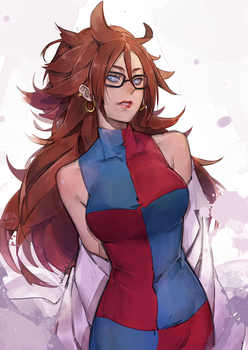 Android 21 rkgk by wickedalucard