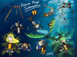 Duncan Plays Subnautica by EmberTheDragonlord