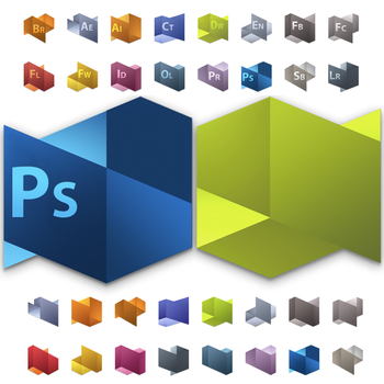 Adobe Cs5 Icons Replacement by osdx