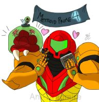 Metroid!! by AniDragmire