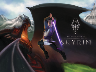 Skyrim wars x)) by Galackk