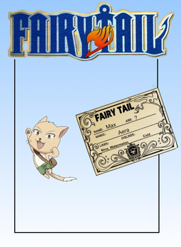 Fairy Tail ID - Max by xNanys