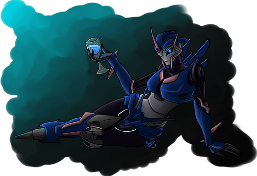 Pin-up Arcee by Sziondaisy