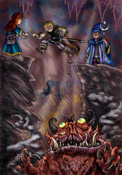 Caves of Peril by Loneanimator