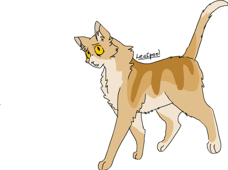 Leafpool (Moth's Wings MAP Ref) by ChikkiArts