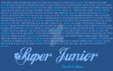 Super Junior Quotes Wallpaper by raining-pocky88