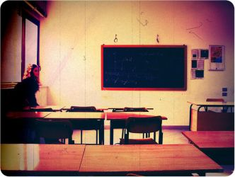 .old classroom. by multicolorlips