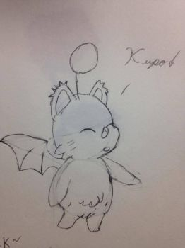 Moogle by BlueMoonSamurai