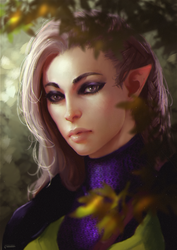 Commission: Lavellan by Leventart