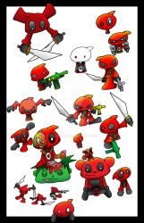 Deadpool poster by 5chmee