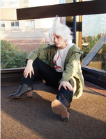 Nagito Komaeda Cosplay 1 by ucccoffee