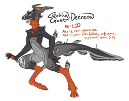 Goblin Goat Deereon AUCTION by LiLaiRa