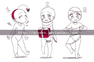 Holiday YCH Auction CLOSED by GiteRu