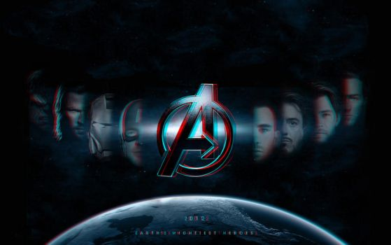 The Avengers 3-D conversion by MVRamsey