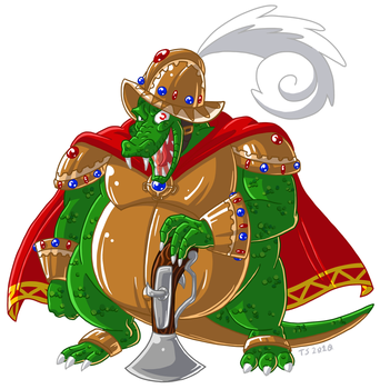 Konqueror K.Rool by TSoutherland