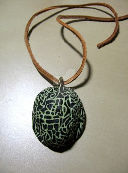 walnut pendant by j00da